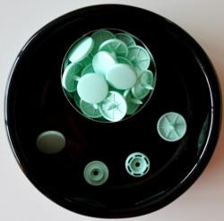 Pressions KAM-  T8 vert pastel