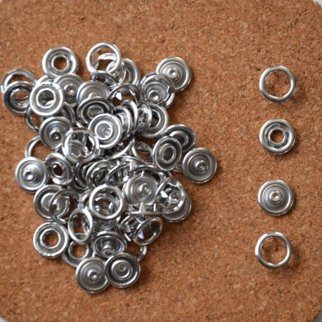 Pressions GRIFFES METAL - 11mm