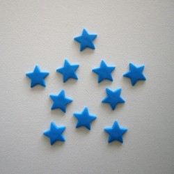 Pressions KAM - ETOILE bleu aqua