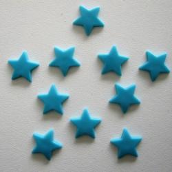 Pressions KAM - ETOILE turquoise