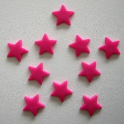 Pressions KAM - ETOILE rose fluo