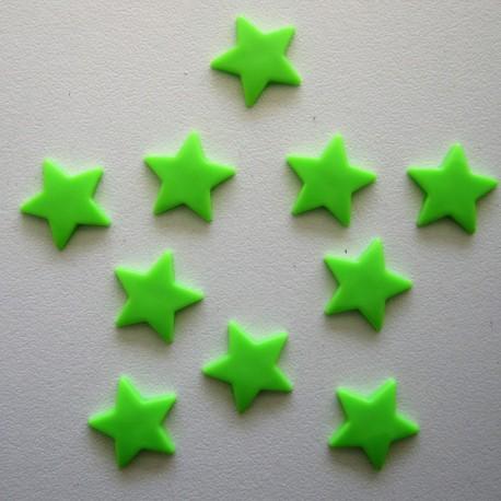 Pressions KAM - ETOILE vert fluo