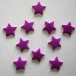 Pressions KAM - ETOILE violet lumineux