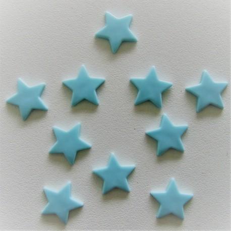 Pressions KAM - ETOILE bleu vert pastel