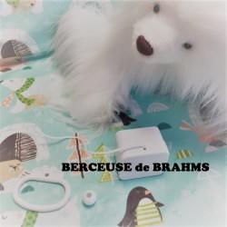 """Boîte à musique """"BRAHMS LULLABY"""" - berceuse de Brahms"""