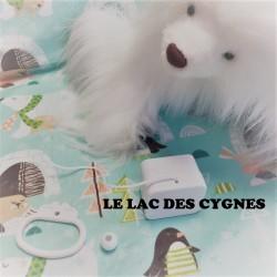 """Boîte à musique """"LE LAC DES CYGNES"""" de Tchaïkovski"""