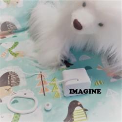 """Boîte à musique """"IMAGINE"""" de J. LENNON"""