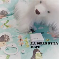 """Boîte à musique """"LA BELLE ET LA BETE"""" de Disney"""