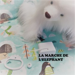 "Boîte à musique ""BABY ELEPHANT WALK"""