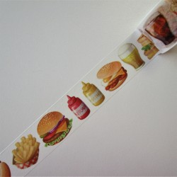 "Masking tape "" FAST FOOD"""