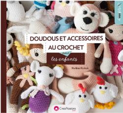 """""""DOUDOUS ET ACCESSOIRES AU CROCHET"""" de M. HURTRAIT"""