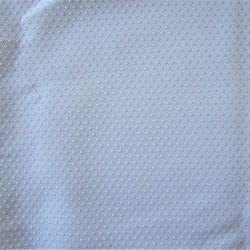 Tissus anti dérapant à picots - BLANC