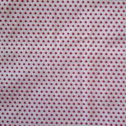 Tissus anti dérapant à picots - BLANC/ROUGE