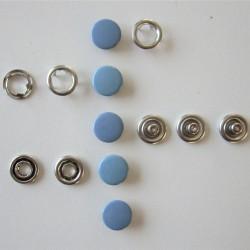 Pressions GRIFFES - bleu gris