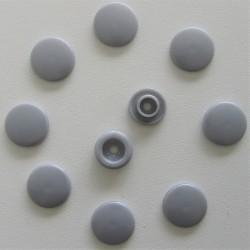 Pressions KAM - T5 argent métallisé