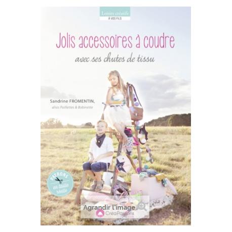 """""""JOLIS ACCESSOIRES A COUDRE"""" de paillettes et bobinette"""