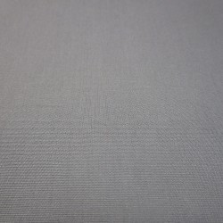 Coton satiné gris  perle