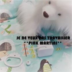 """Boîte à musique """"JE NE VEUX PAS TRAVAILLER"""" - PINK MARTINI"""