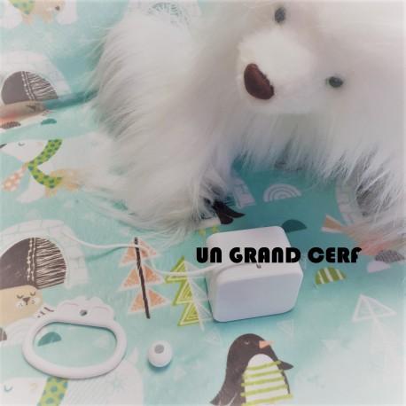 """Boîte à musique """"UN GRAND CERF""""- comptine"""