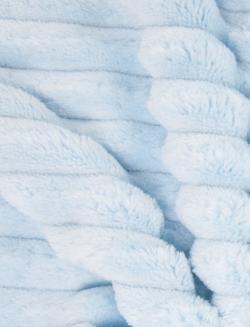 MINKEE GROSSES COTES - bleu pastel