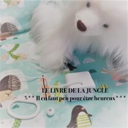 """Boîte à musique """"IL EN FAUT PEU POUR ETRE HEUREUX"""" - Le livre de la jungle"""