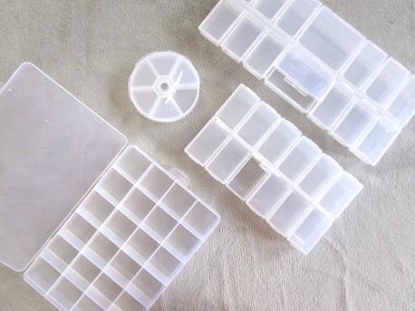 Boîtes de rangement plastique pour PRESSIONS et EMBOUTS ZYT