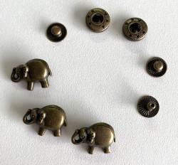 """Pressions métalliques 12,5L """"ELEPHANT"""""""