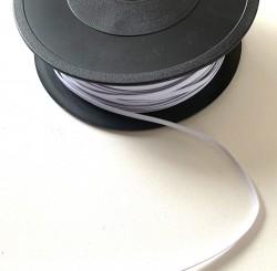 Elastique 5 mm BLANC