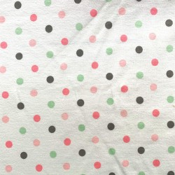 "JERSEY motif ""POIS"" - version rose"