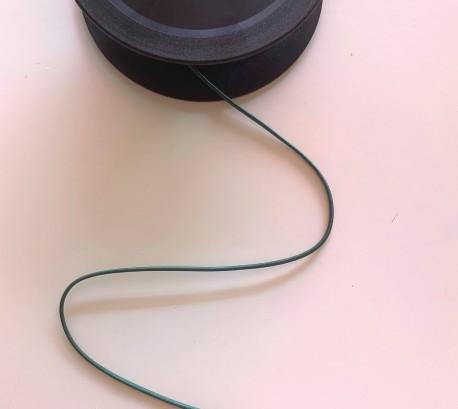 Elastique rond 1,5 mm VERT