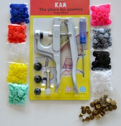 KIT Pince KAM + 100 pressions assorties *BASIQUE*