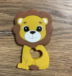 Anneau de dentition silicone - LION