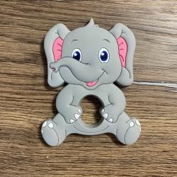 Anneau de dentition silicone - ELEPHANTEAU