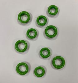 OEILLETS vert pomme taille au choix