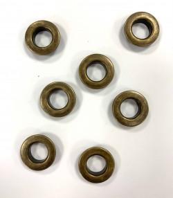 OEILLETS bronze PLAT taille au choix