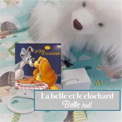 """Boîte à musique """"BELLE NUIT"""" - belle et le chochard"""