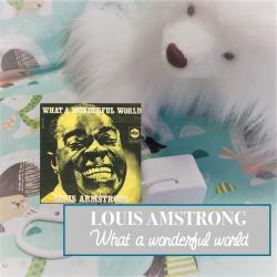 """Boîte à musique """"WHAT A WONDERFUL WORLD"""" de L. AMSTRONG"""