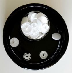 Pressions KAM - T8 blanc