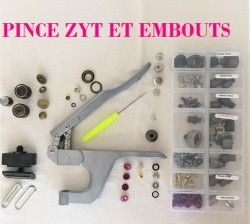 ZYT: OEILLETS, RIVETS, pressions METAL, boutons JEANS